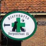 Dierenartsenpraktijk Dorpstraat naast 'Nove'