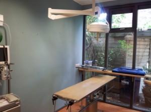 In deze aparte ruimte worden de operaties gedaan.