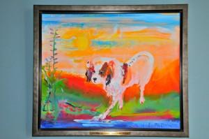 Wij steunen KIKA-fonds door aankoop van deze schilderijen.
