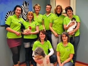 Het team van Dierenartsenpraktijk Ypenburg - Nootdorp